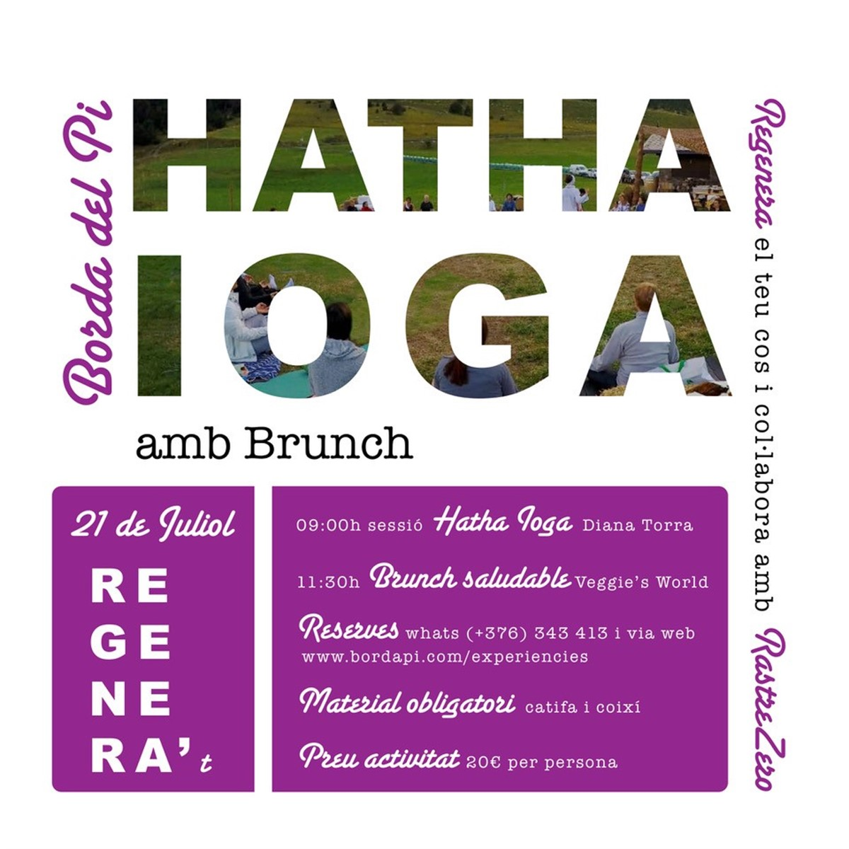 Hatha Yoga + Brunch